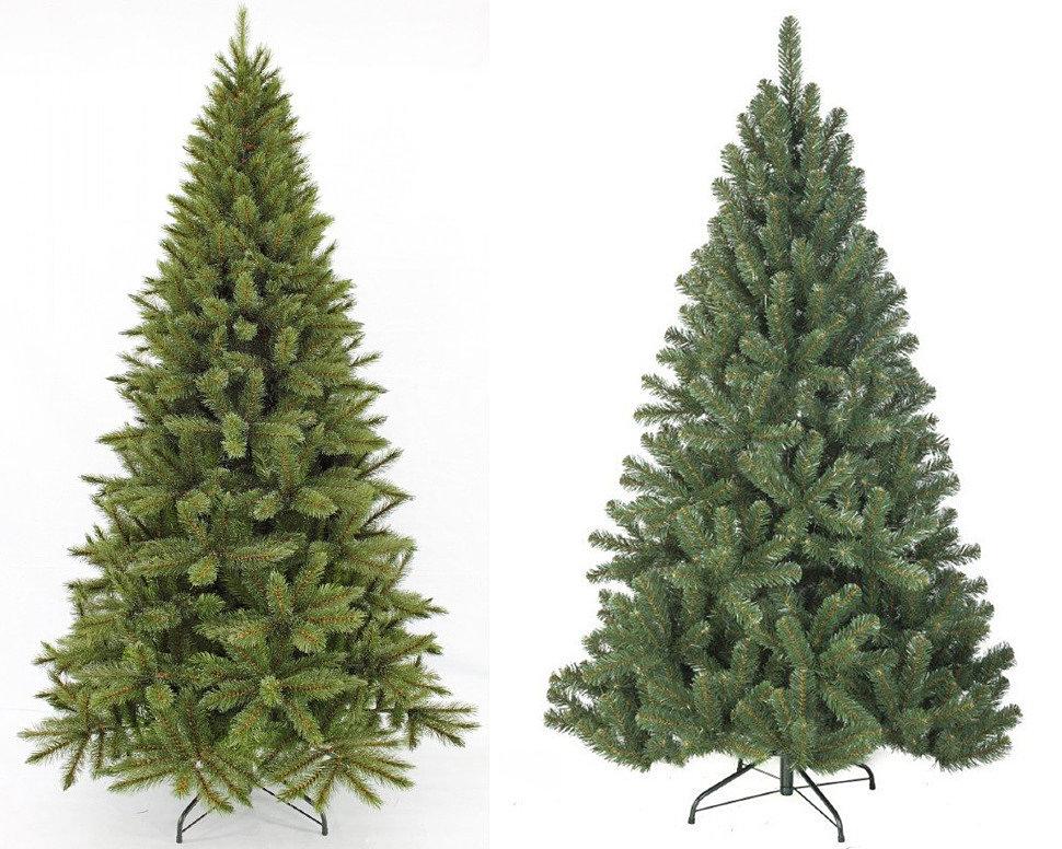 Какую выбрать искусственную елку из мягкого или жесткого ПВХ